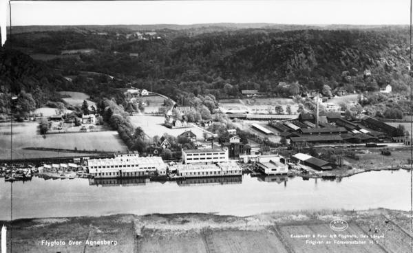 Agnesberg med Dorch, Bäcksin & Co:s fabrik