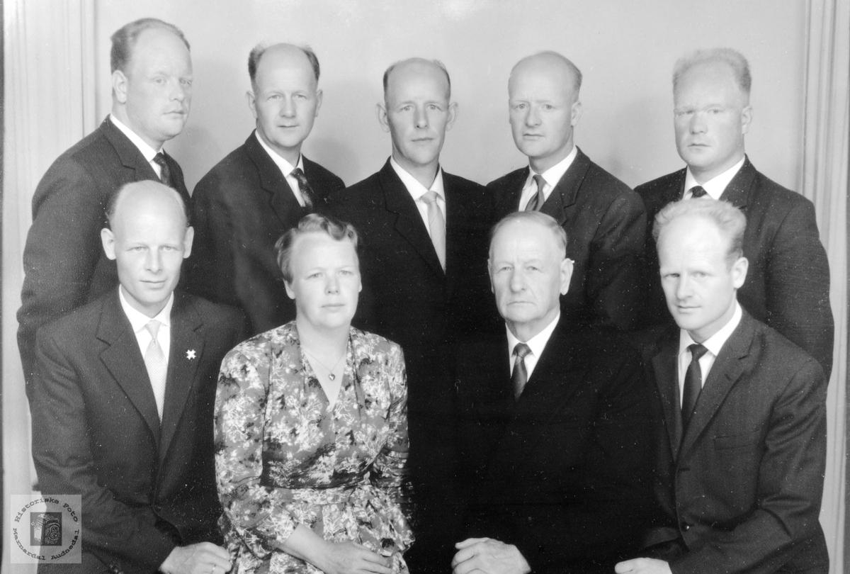 Familien Bransdal. Grindheim Audnedal.