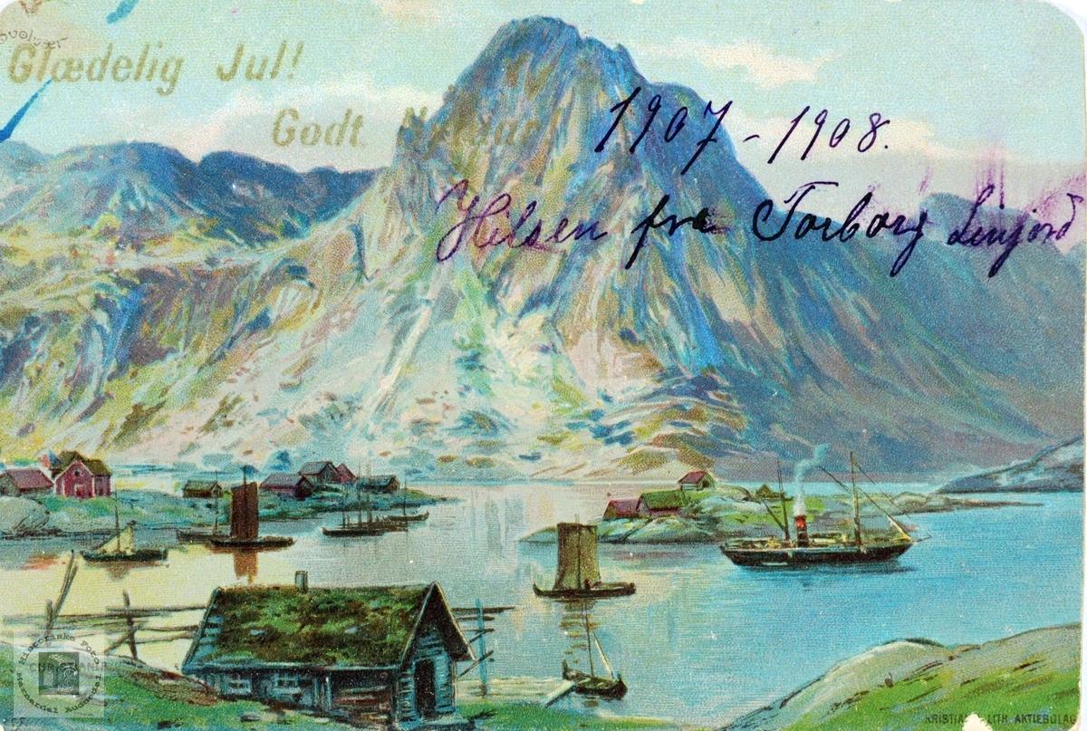 Postkort fra Svolvær.