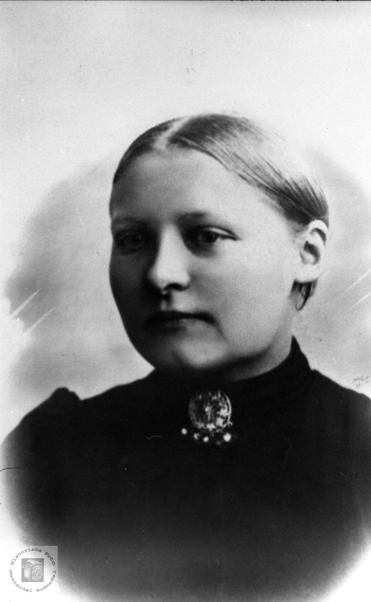 Portrett av Todne Ausland, Øyslebø.