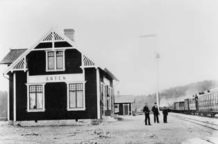 Poststationen Anten i Östads kommun, Västra Götalands län inrättades 1900-01-01.