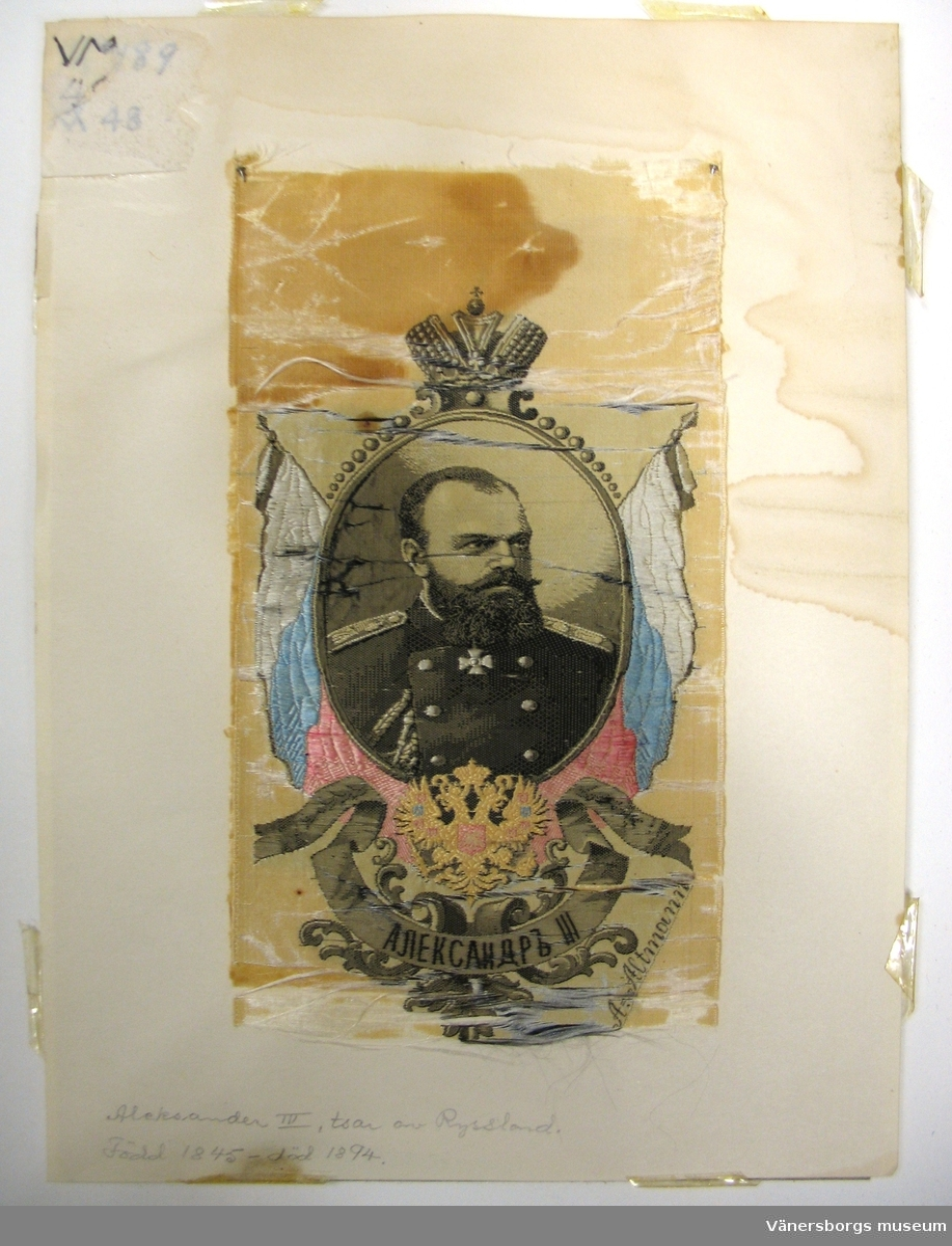 tsaren Alexander III av Ryssland