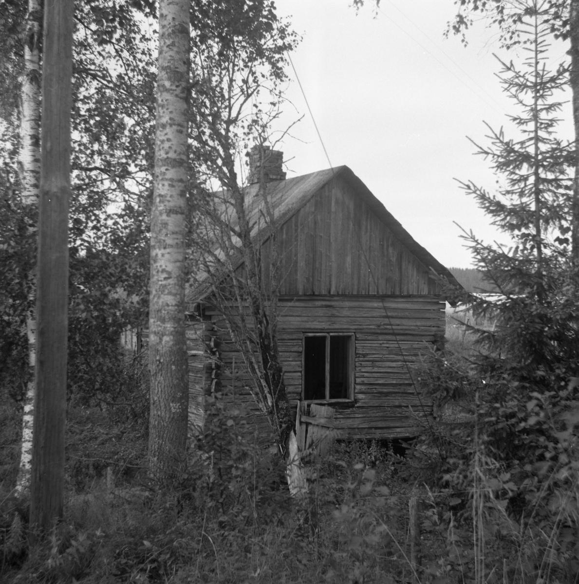 Bygning ved Nebbenes som ble brukt som bakeri ved Urskogbanens anlegg.