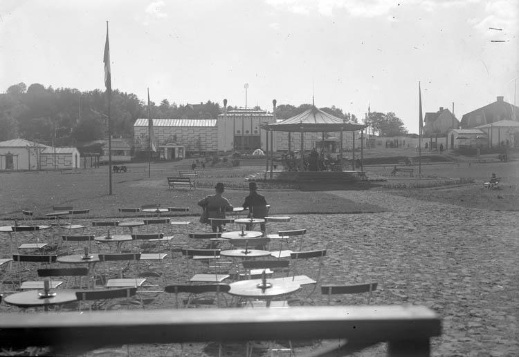 Uteservering på Uddevallautställningen 1928