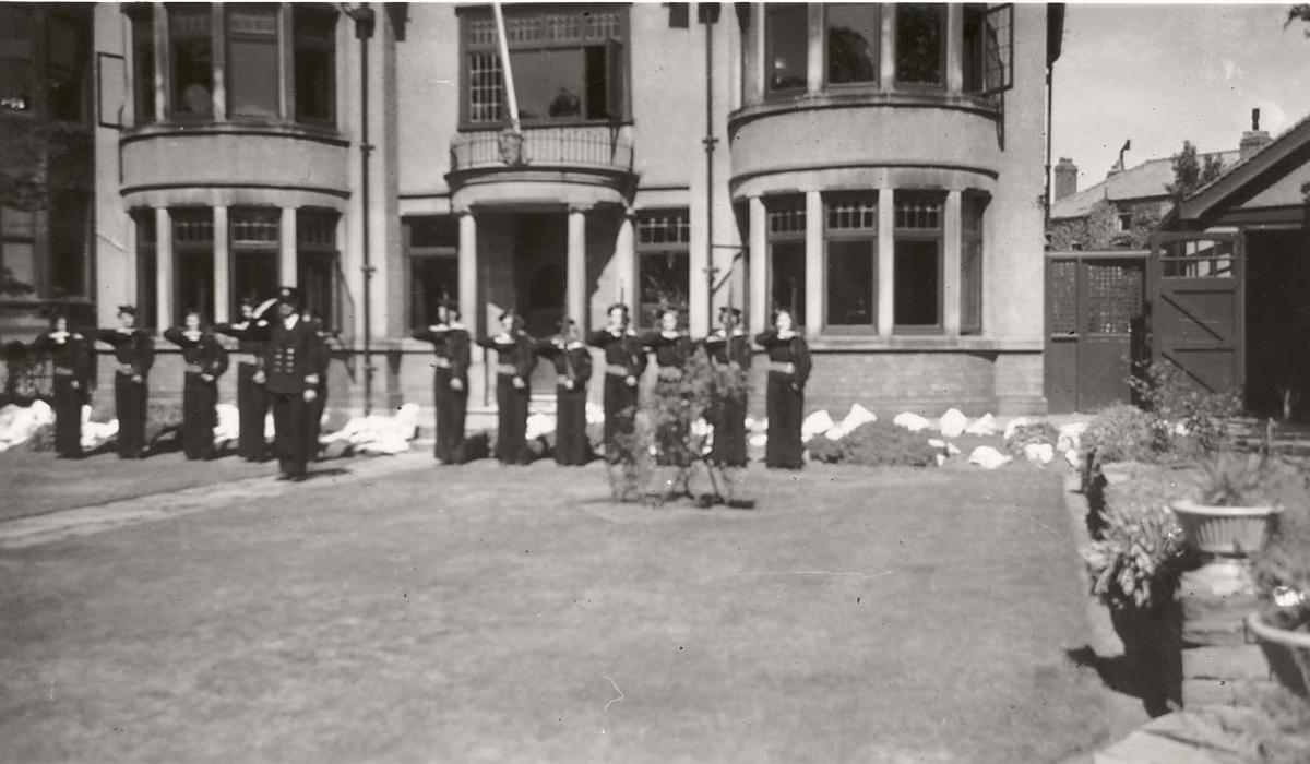 Motiv: Marinens Kvinnekorps 1942-1945 Garde