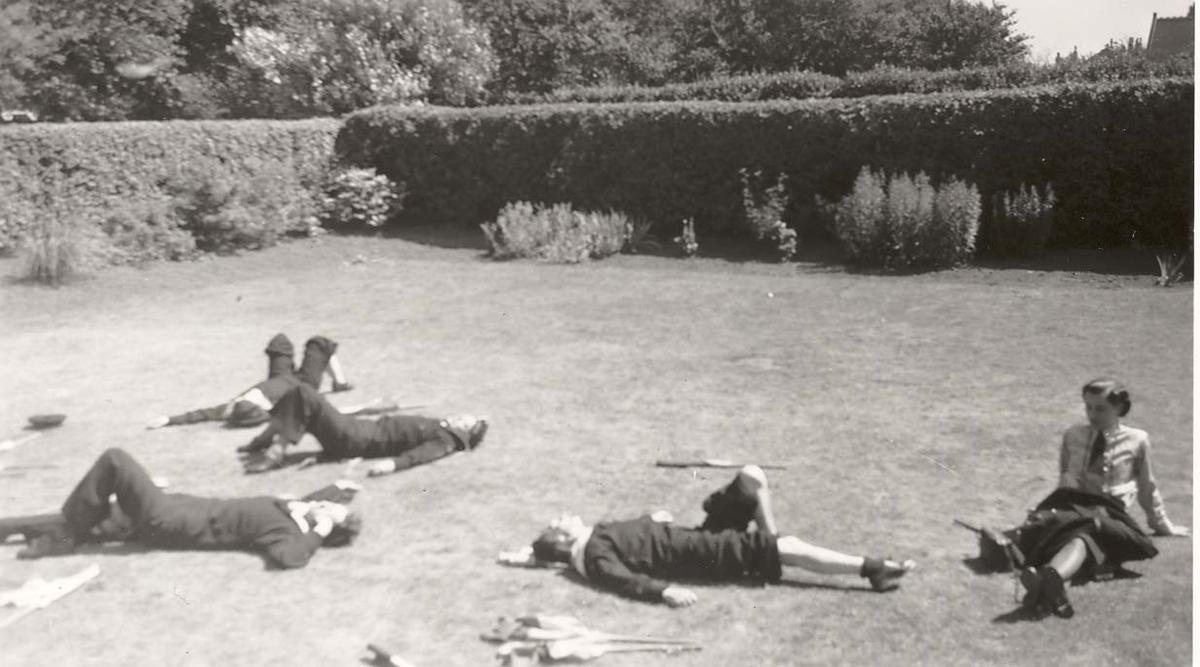 Motiv: Marinens Kvinnekorps 1942-1945 Hvil