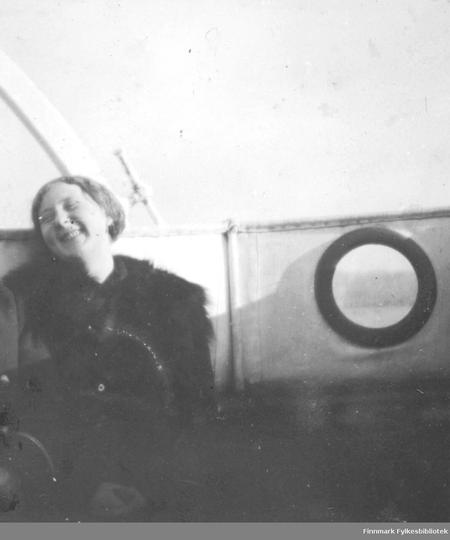 Ombord i 'Erling Jarl' 1915
