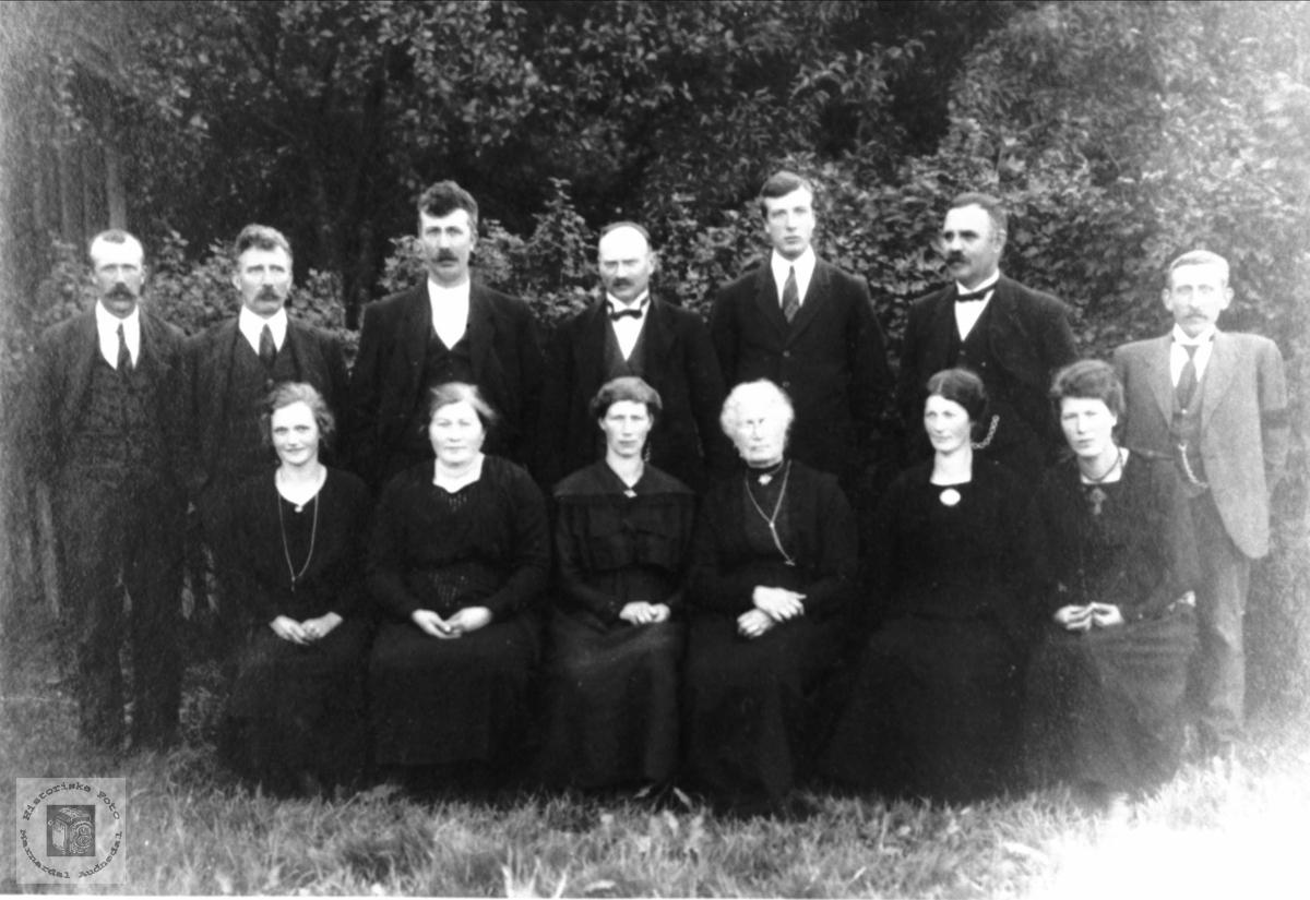 Familiegruppe Leirkjær, Heddeland