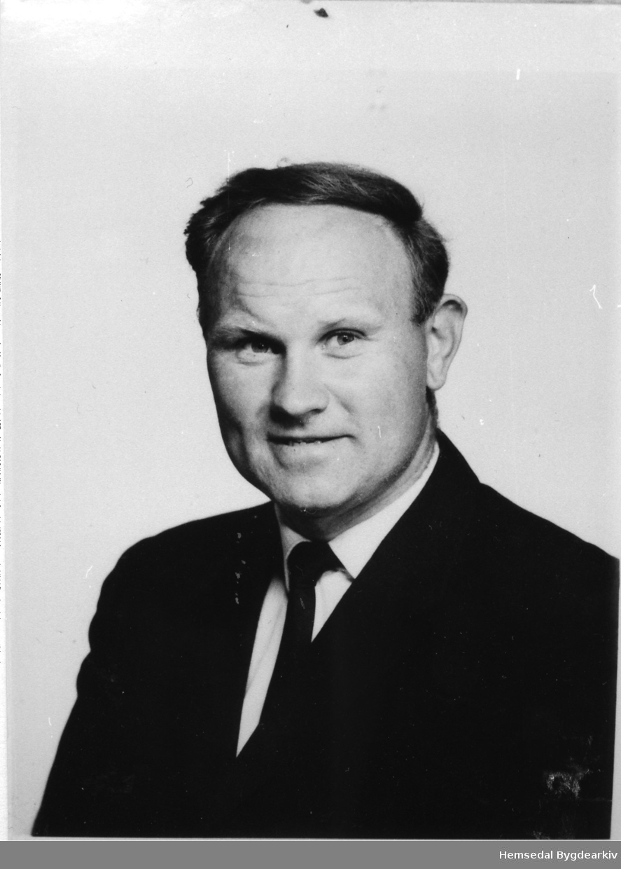Ola Hustad. Ordførar i Hemsedal frå 1976 til 1987.