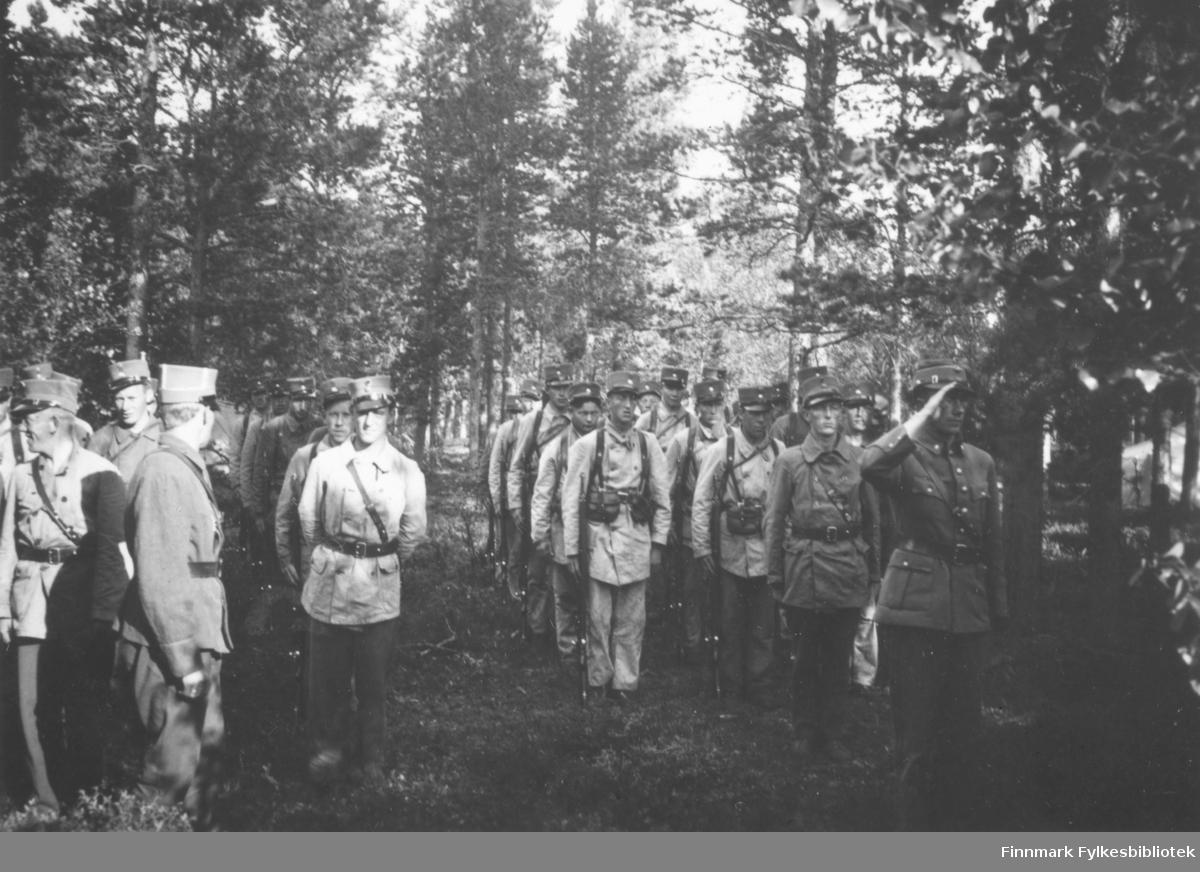 Oppstilling Sokkelmamoen, august 1939