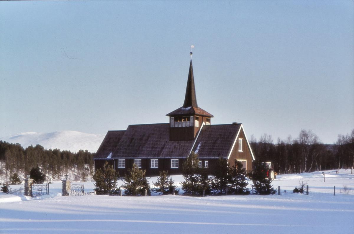 Dalsbygda kirke. Os i Østerdalen. Dalsbygda Kirkestue ble innviet av biskop Kristian Schelderup 30. oktober 1960. Kirkestua fikk status som kirke den 2. november i 1981, og etter den tid har Dalsbygda vært eget sogn og hatt sitt eget menighetsråd.