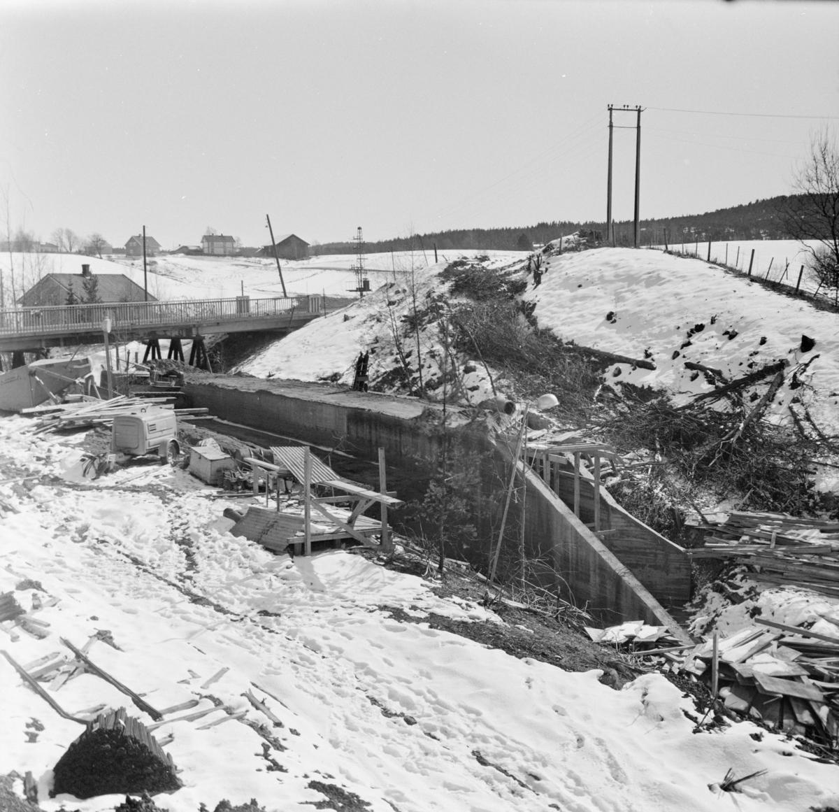 Tønsberg tunnel (kulvert) under bygging.
