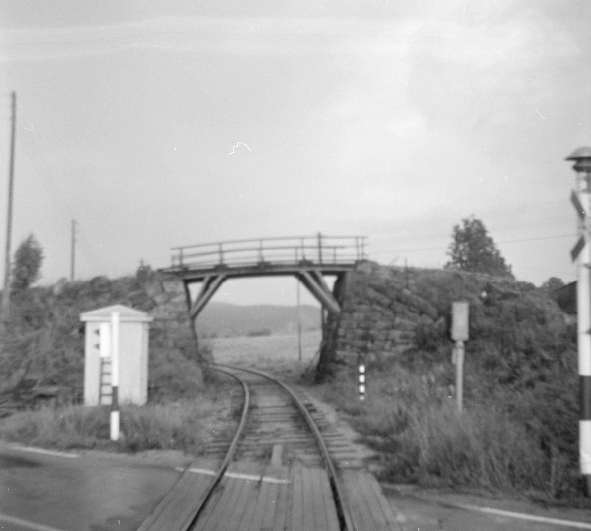 Langs Krøderbanen ved tidligere Hære holdeplass.