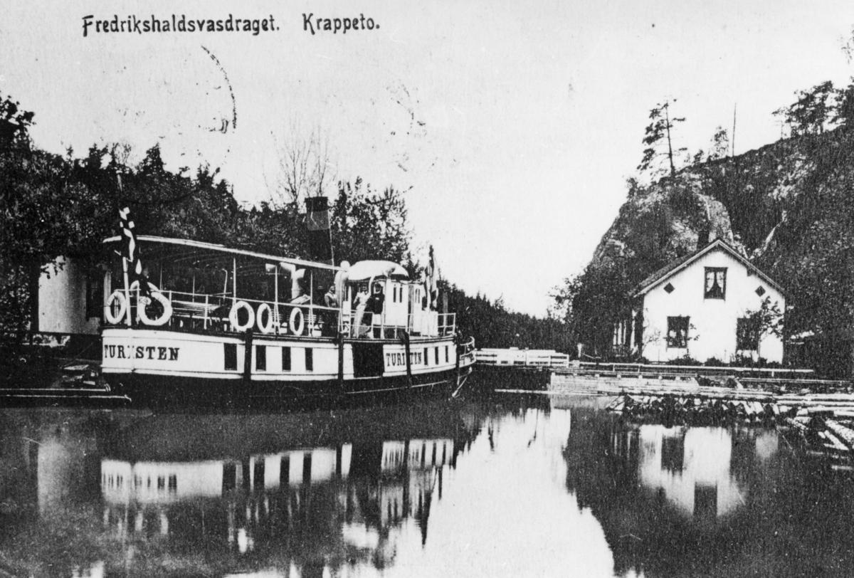D/S Turisten ved Krappeto