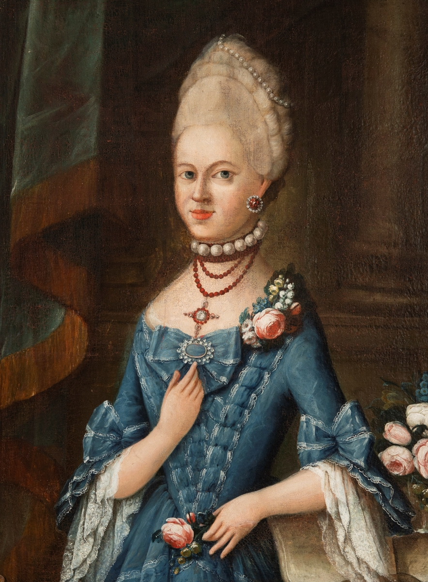 Fredricke Margrethe Neumann [Maleri]