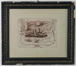 Korvetten BALDER i Medelhavet - vinterexpeditionen 1896-97