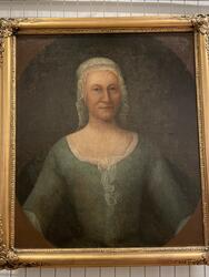 Porträtt av Helena Vigelia Fryksell [Målning]