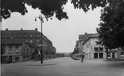 Allégatan vid Yxhammarsgatan mot norr år 1930.
