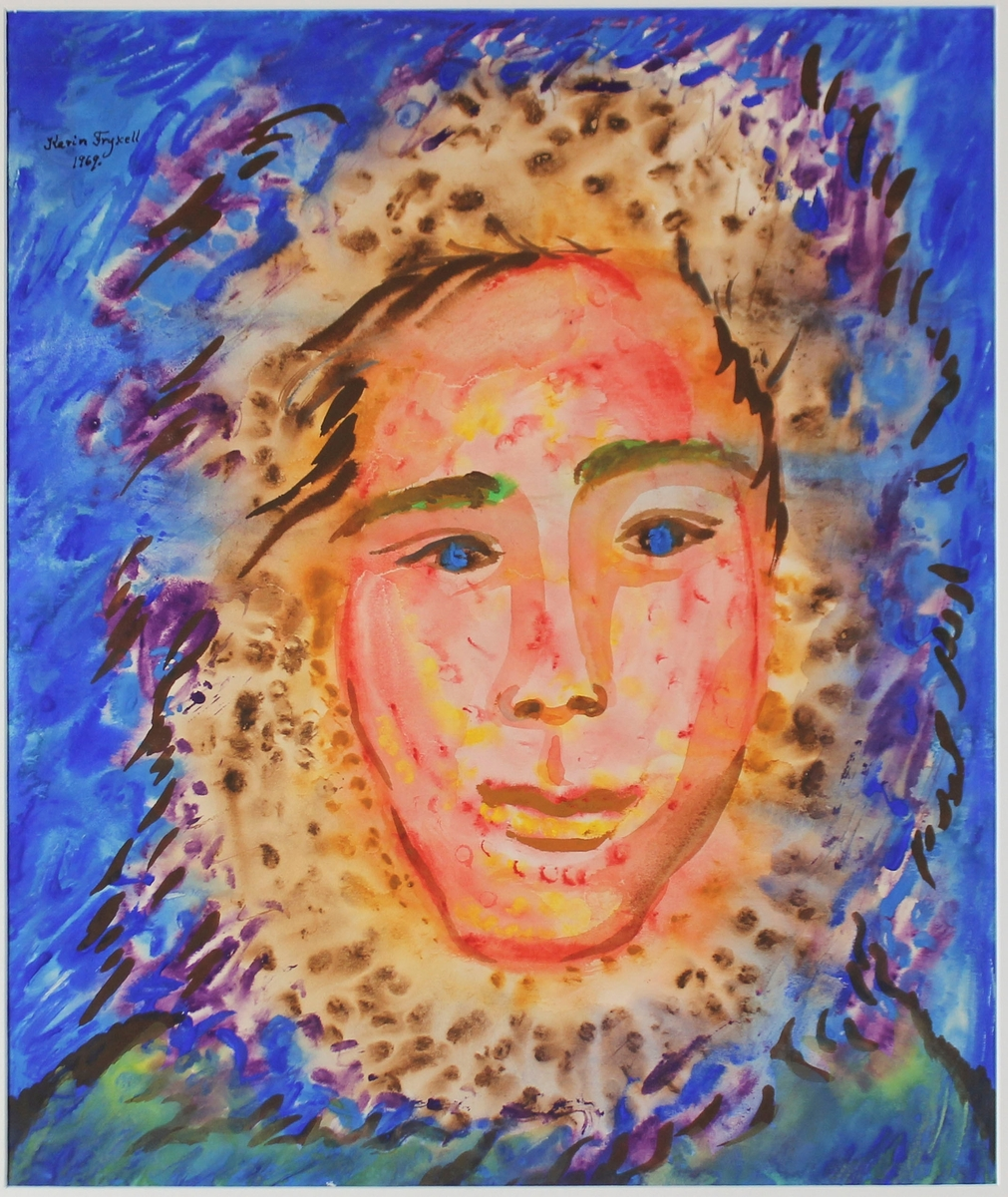 Eskimåiskt halvblod [Målning]