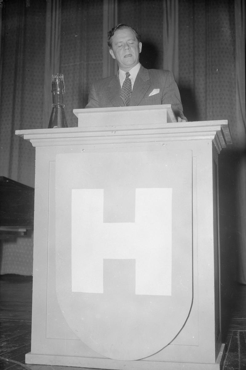 Valgmøte for Høyre