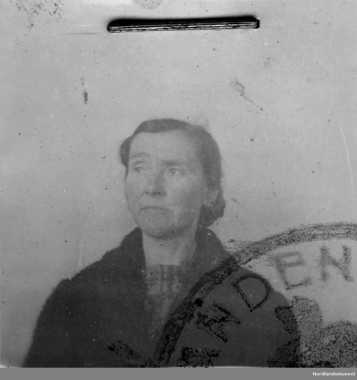 Passfoto av Matilde Molid, Beiarn.