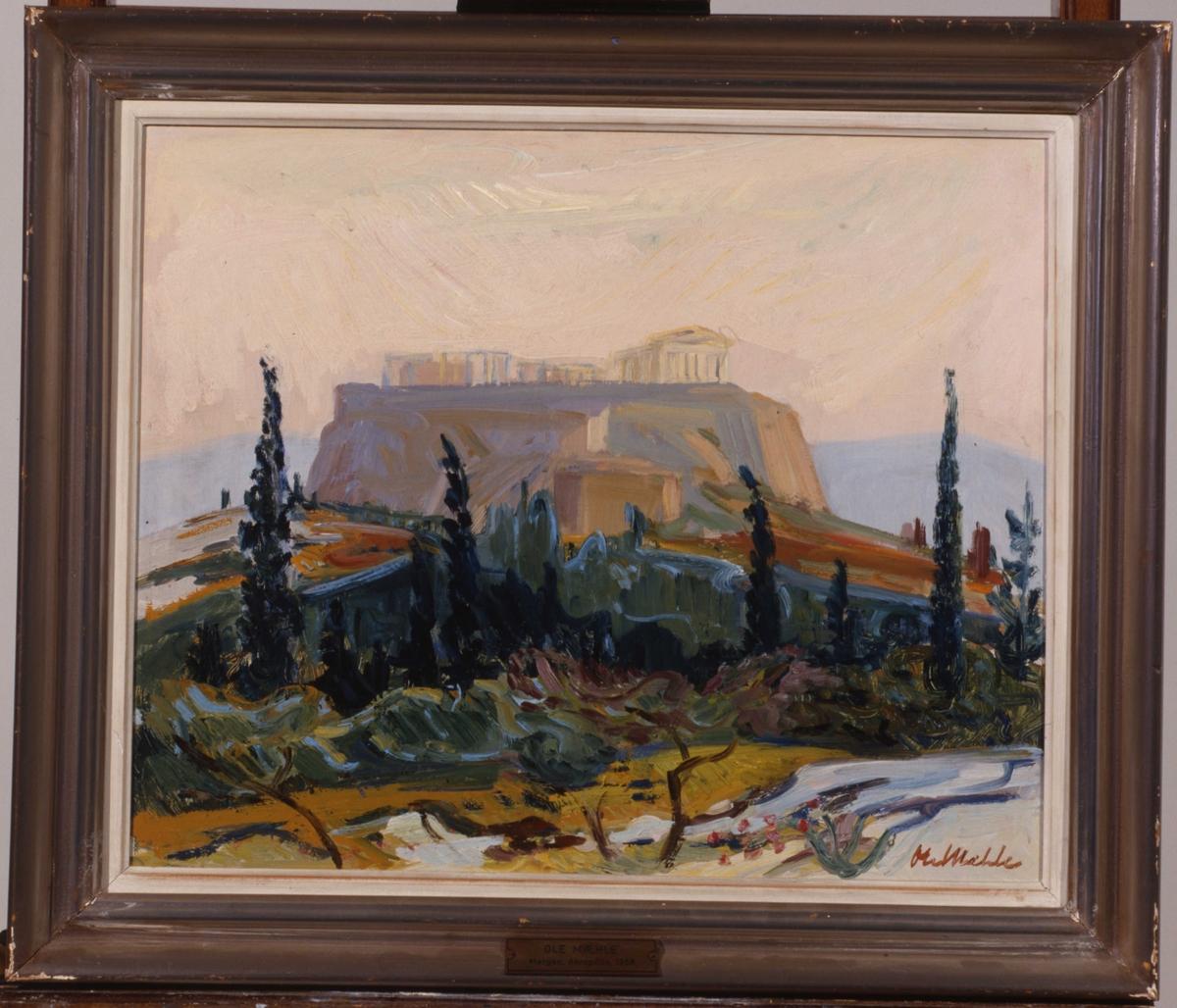 Morgen, Akropolis [Maleri]