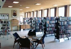 Gol bibliotek 1978. Foto: Terje Vindegg.
