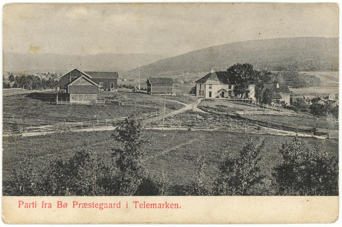 Bø prestegard, Bø i Telemark