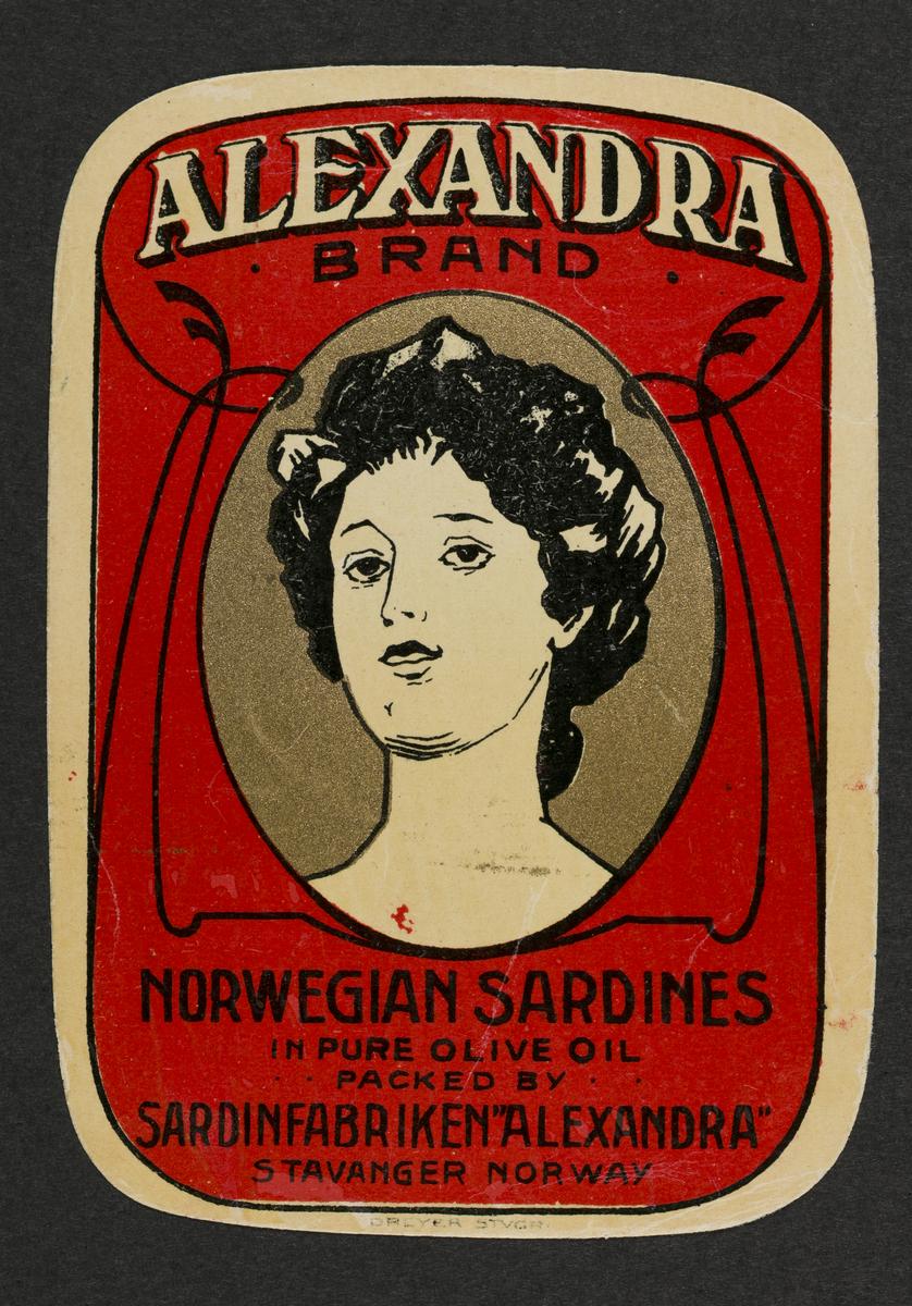 Alexandra, Sardinfabriken (Hermetikkindustri)