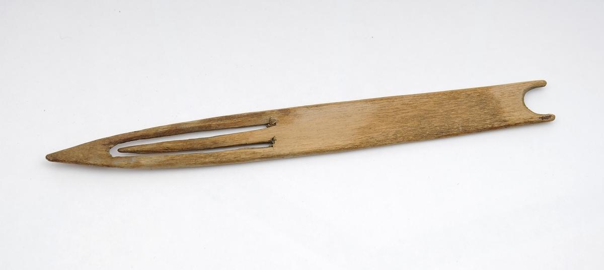 Garnnål, redskap til binding og bøting av fiskegarn