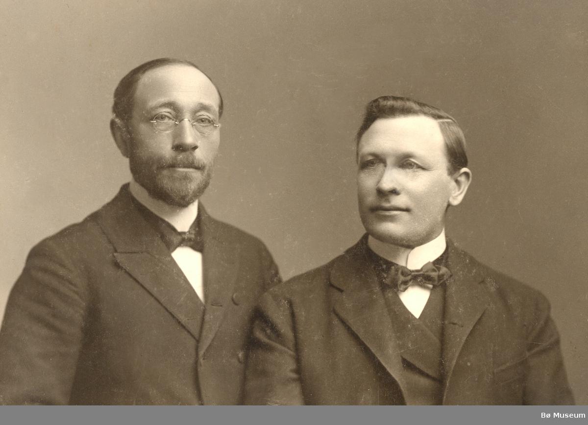 Halvor J. Lie og Andres Eikjarud