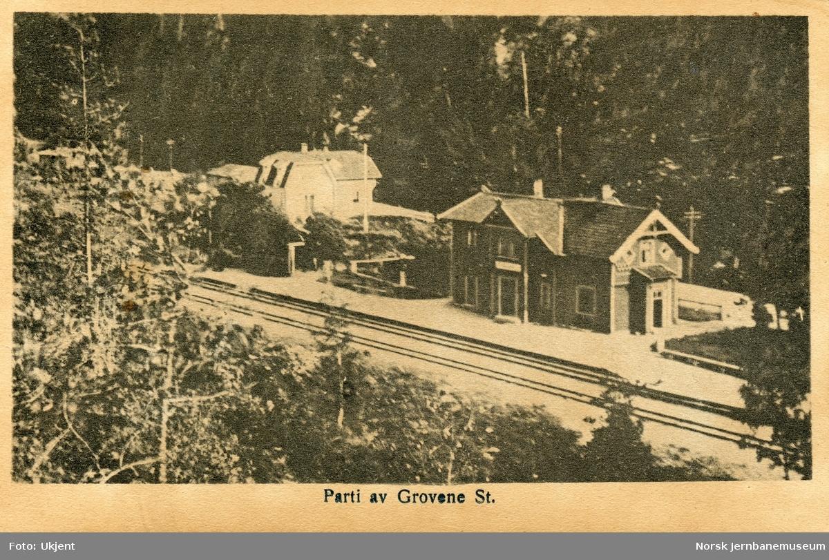 Grovane (Grovene) stasjon