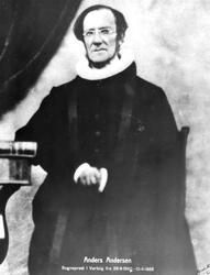 Prest Anders Andersen, Varteigs første sogneprest, fra 1860