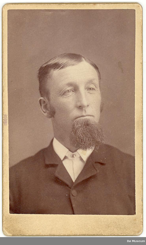 Brystbilde av Halvor N. Flåta