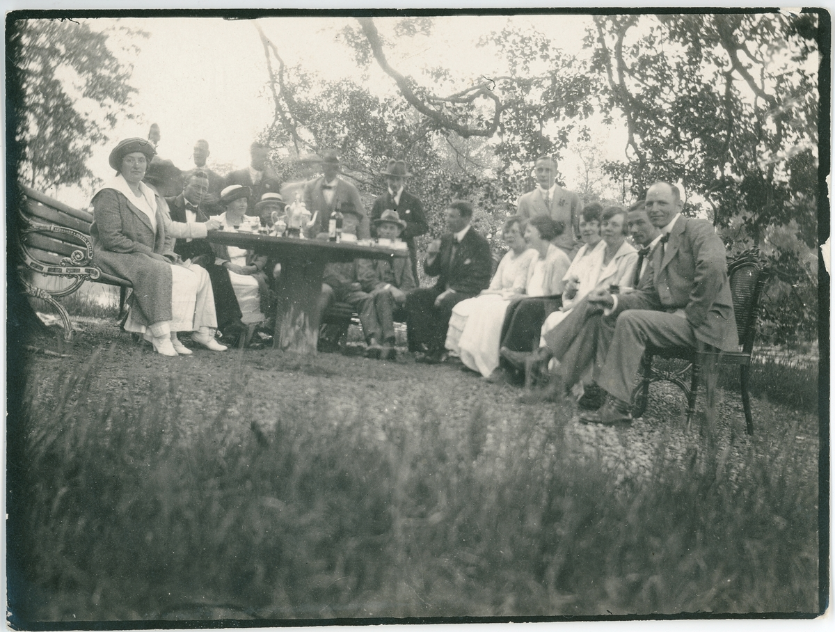 Midsommar, Österby, Uppland 1920