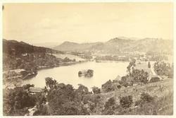 Kandy, den gamla huvudstaden på Sri Lanka