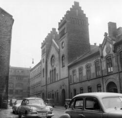 Tøyen kirke. Mars 1957