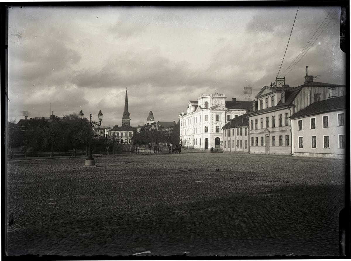 Västerås, Centrum. Fiskartorget, c:a 1900.