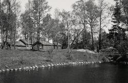 Hembygdsparken i Ljungby, 1946.