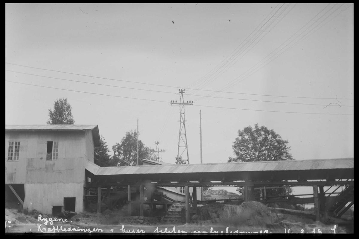 Arendal Fossekompani i begynnelsen av 1900-tallet CD merket 0474, Bilde: 91 Sted: Rygene