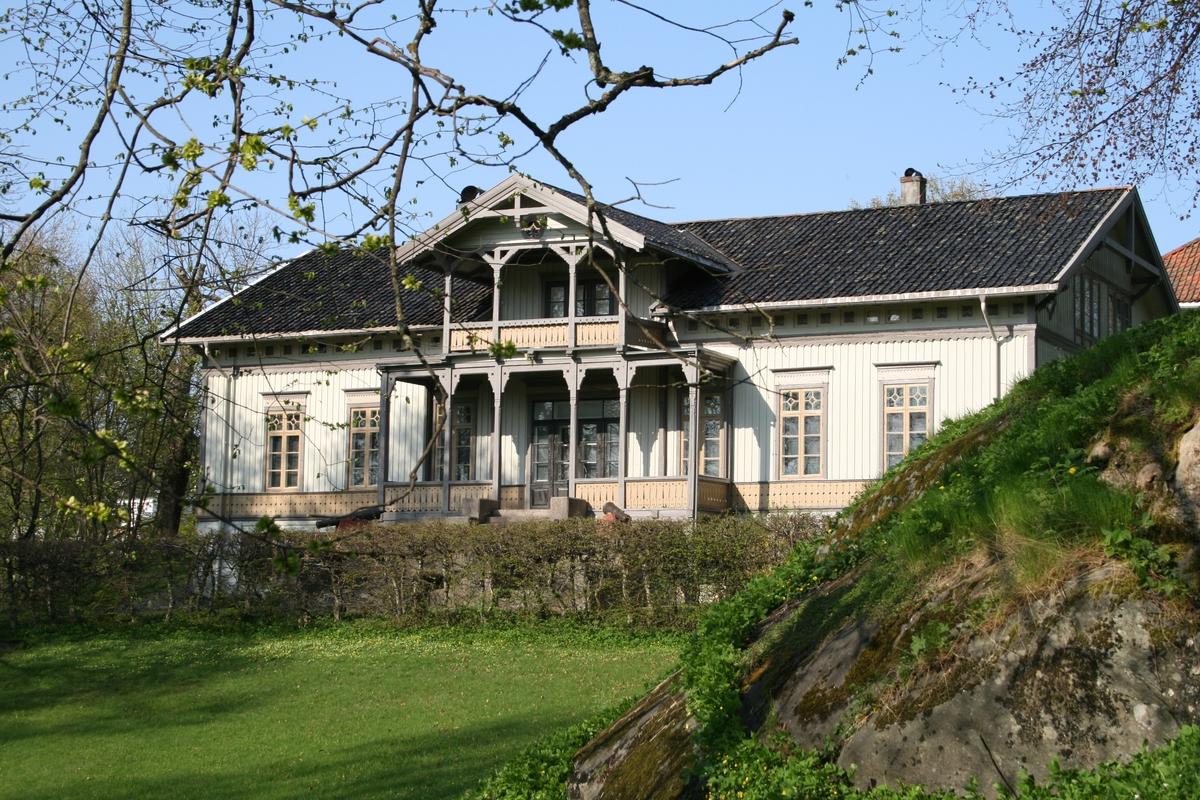 Langsæ gård, fasade mot NV.