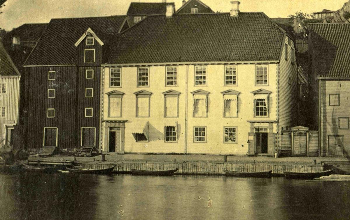 Arendal og omegn - Fra John Ditlef Fürst fotoalbum - Langbryggen  - AAks 44 - 4 - 7 - Bilde nummer 29
