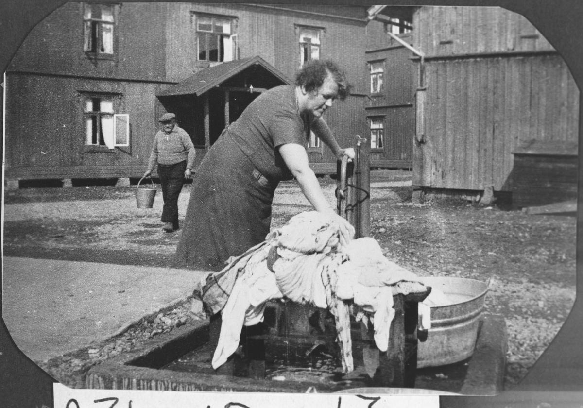 Klesskylling i 1938.