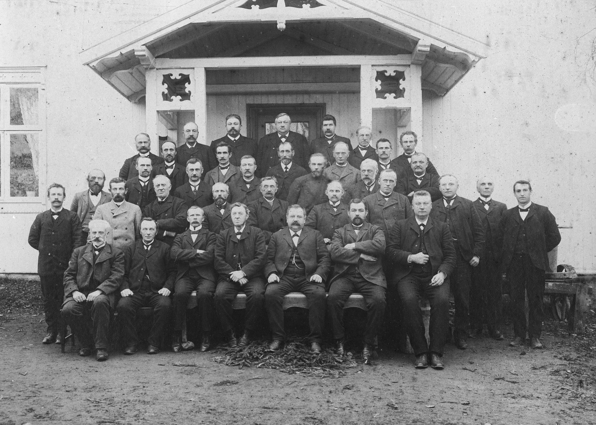 Herredstyre. Lillerommen ca. 1900