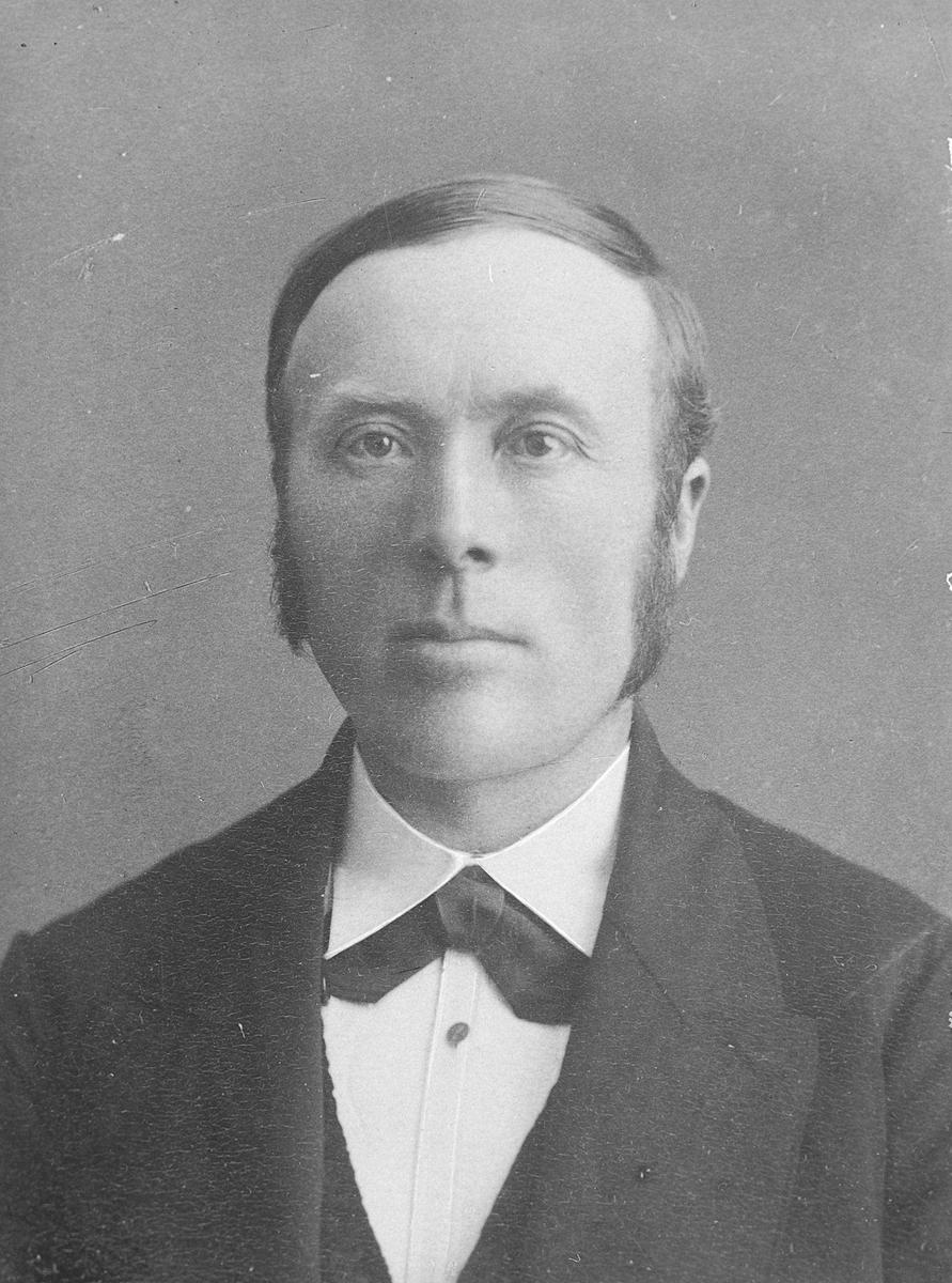 Engbret O. Brænd, ordfører i Sollia (Kopiplate fra 1937)