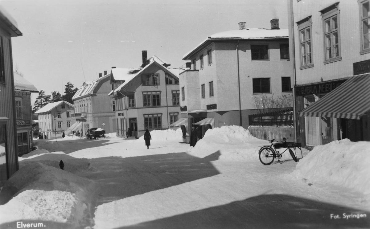 St. Olavs gate, Leiret, Elverum.