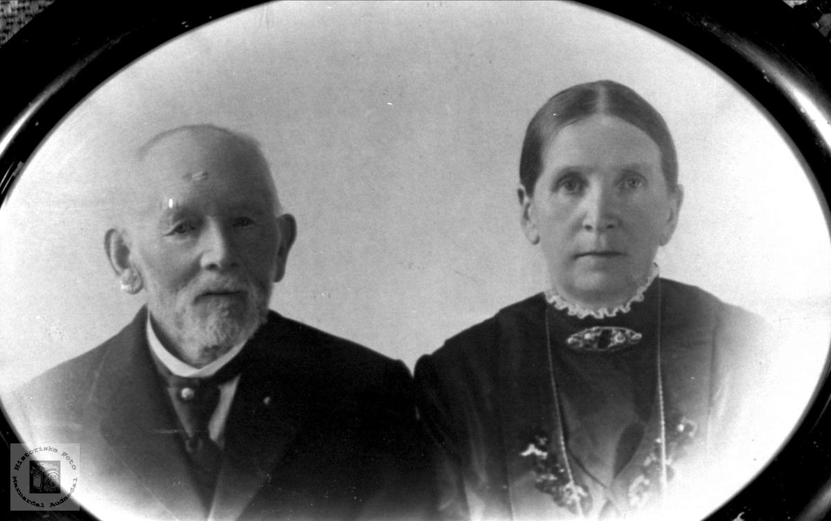 Ekteparet Torkel og Anne Katrine Fuskeland, Holum.