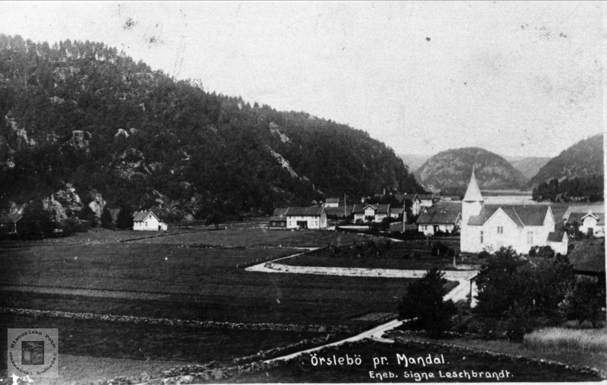 Øyslebø før 1910
