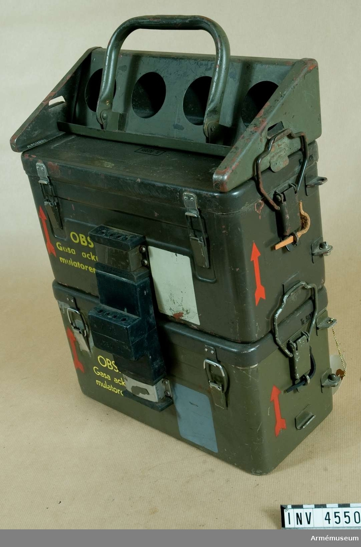 Strömförsörjningsutrustning 3/S. (Ackumulatorn) t simulator robotsystem 52. (M 8730-396310).