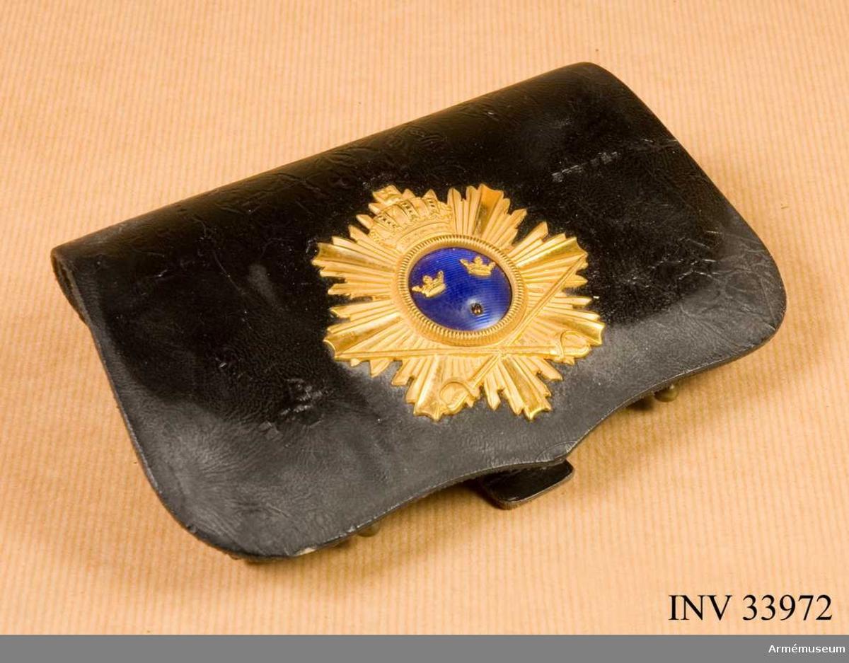 Grupp C I. En krona saknas i emblemet. Buren av Carl Knös.